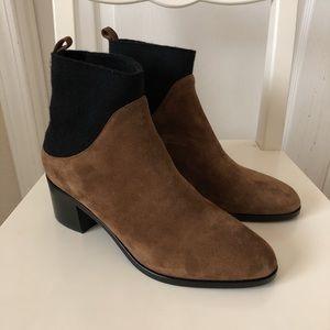 Via Spiga Ankle  boots brown black suede